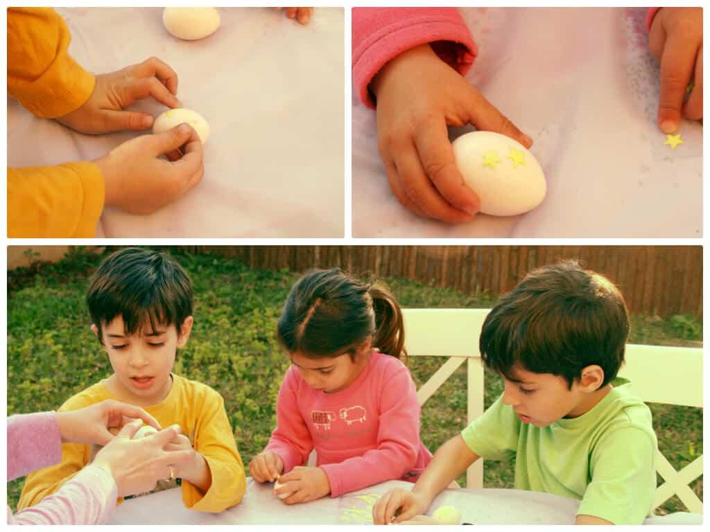ביצים מדביקים